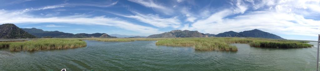 dalyan göl panorama